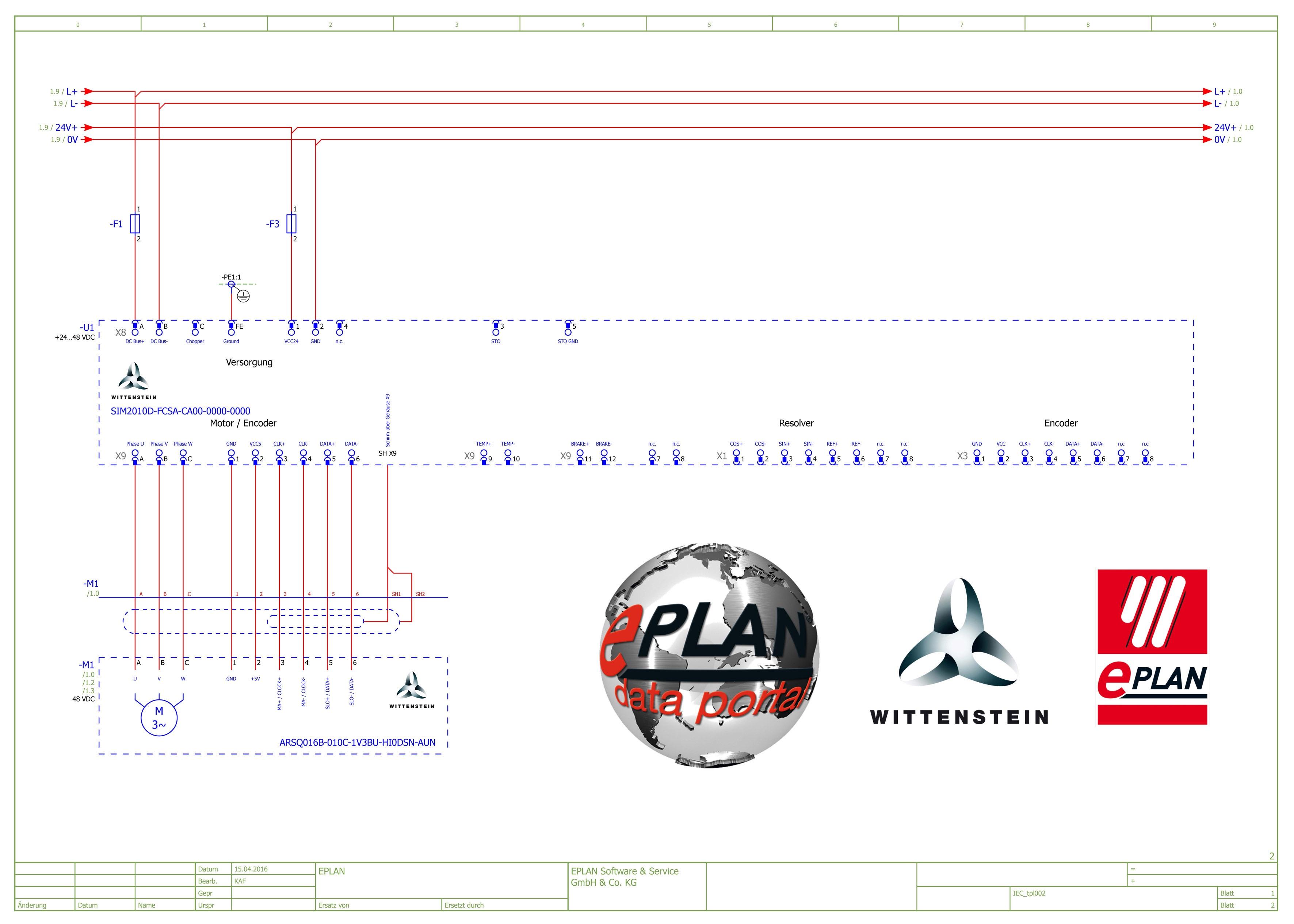 Kleinservoantriebssystem von WITTENSTEIN in EPLAN Data Portal ...